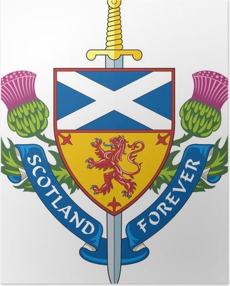 Scotland Forever Symbol Of Scotland Poster Pixers We Live