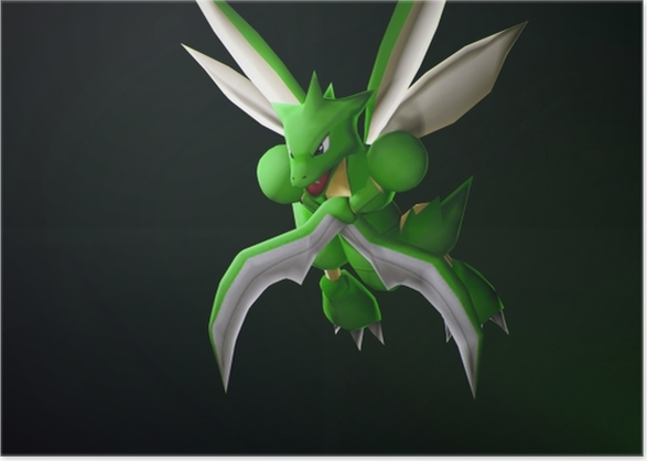 Scyther Poster - Themes