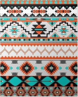Seamless navaho pattern Poster