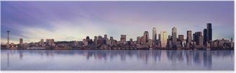 Poster Seattle panorama