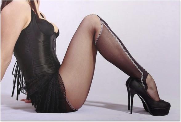black porn legs heels
