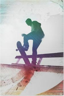 Poster Skateboarder sale
