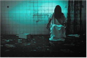 Poster Skräck eller Scary Scene