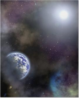space scenario Poster