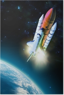 Poster Spaceshuttle