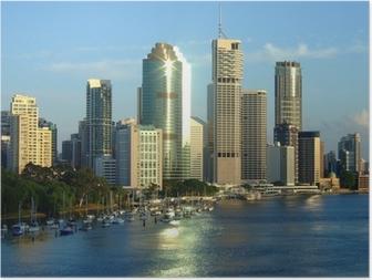 Poster Stad van Brisbane
