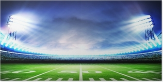Poster Stadion amerikaanse