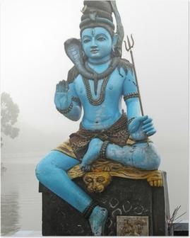 Poster Standbeeld shiva