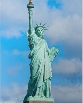 Poster Statue de la Liberté. New York, Etats-Unis.