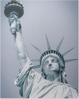Poster Statue of liberte