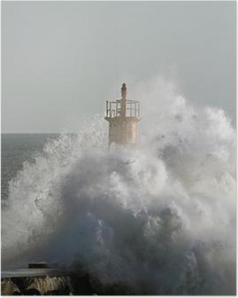 Póster Stormy onda