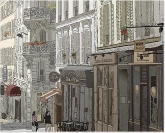 Street in Montmartre Poster