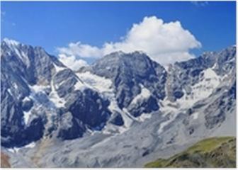 Südtiroler Dreigestirn - Ortler & Königspitze Poster