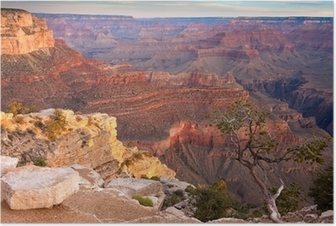 Sunrise over the Grand Canyon Poster