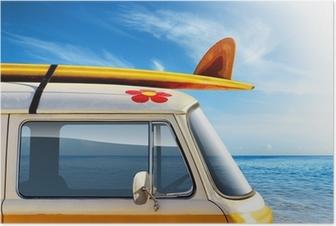 Poster Surf van