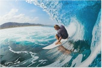 Poster Surfen