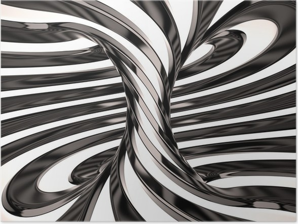 Swirl of lines 3d poster graphic resources