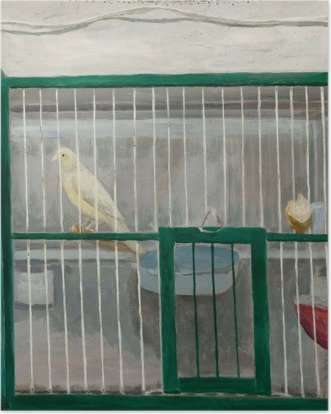 Poster Tadeusz Makowski - Cage canarienne - Reproductions