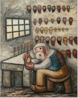 Poster Tadeusz Makowski - Le sabotier