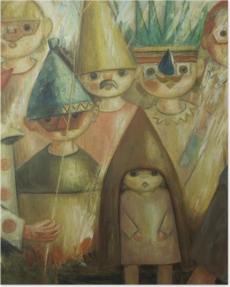Poster Tadeusz Makowski - Masquarade -
