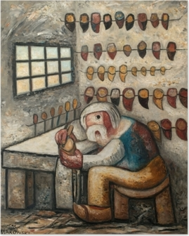Tadeusz Makowski - Shoemaker Poster