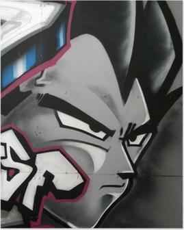 Poster Tag de personnage en couleur