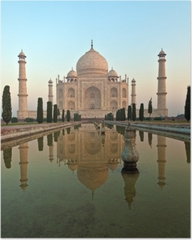 Taj Mahal in India Poster