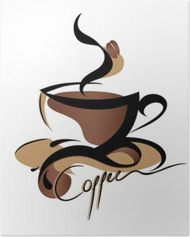 Poster Teken van de Koffie