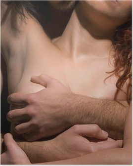 Temptation woman and man Poster