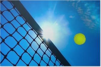 Tennis concept Poster