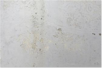 Póster Textura del muro de cemento