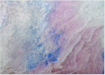 texture of colored charoite stone Poster