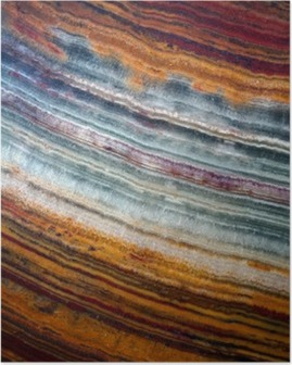 Texture of gemstone onyx Poster