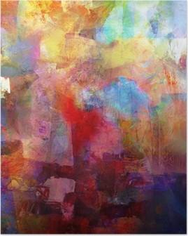 Poster Textures de peinture