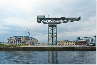 The Finnieston crane - Glasgow Poster