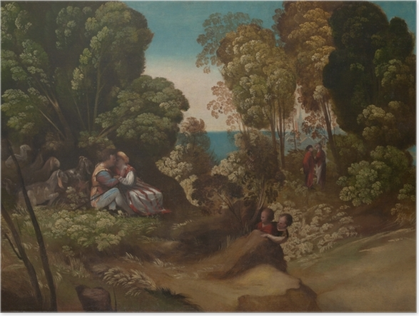Poster The Three Ages of Man - Renässansen