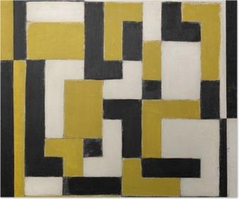 Póster Theo van Doesburg - Composición en disonancia