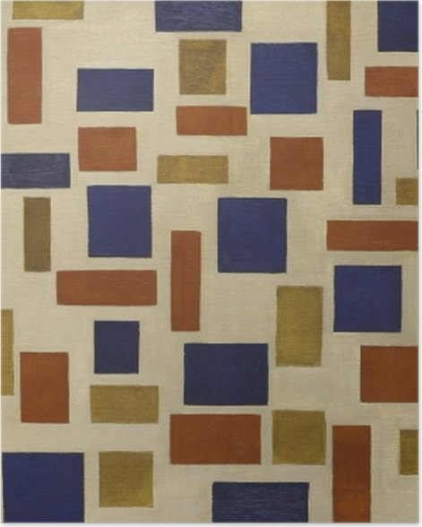 Poster Theo van Doesburg - Composition XI - Reproductions
