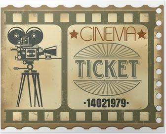 Poster Ticket de cinéma