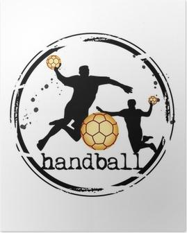 timbre handball Poster