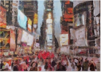 Times Square New York City Poster
