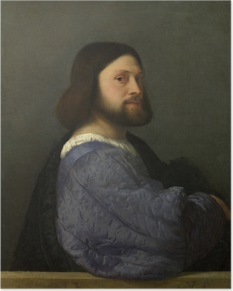 Titian - Portrait of a Man Poster - Reproductions