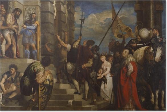 Póster Tiziano - Ecce Homo - Reproducciones