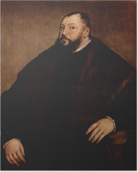 Póster Tiziano - Elector Friedrich von Sachsen - Reproducciones