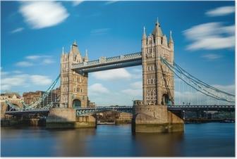 Tower Bridge Londres Angleterre Poster