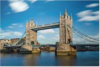 Poster Tower Bridge Londres Angleterre