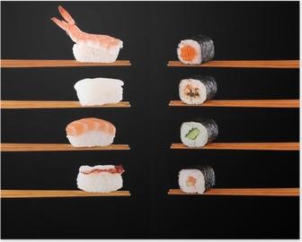 Poster Traditionell japansk mat