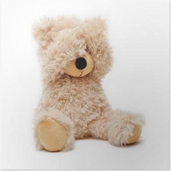 Póster Trauriger Teddy