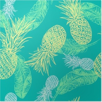 Poster Tropical Seamless.
