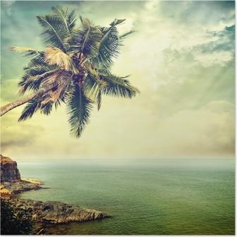 Poster Tropisch eiland